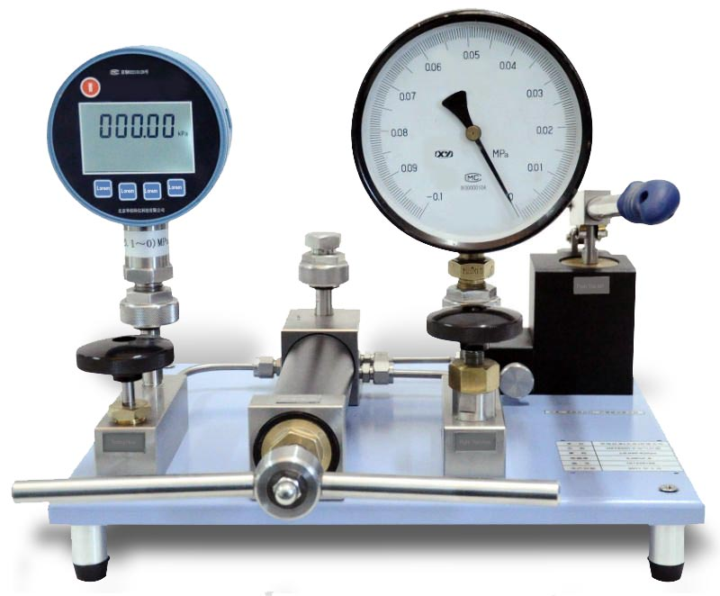 Gauge calibration equipment - on site testing, or lab calibration